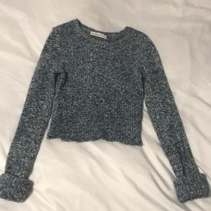 Cropped sweater from Abercrombie & Fitch